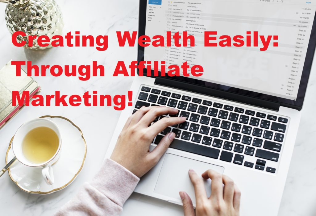 affiliate marketing: Online Work From Home Jobs