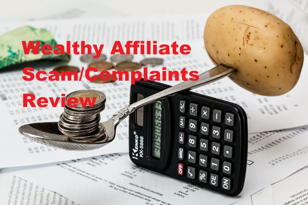 the wealthy affiliate scam and complaints review