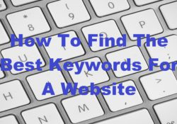 how to find the best keywords for a site