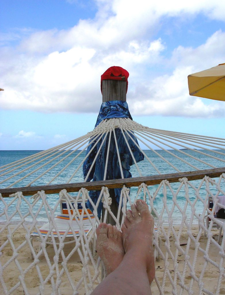 how to make money blogging for free lying in a hammock