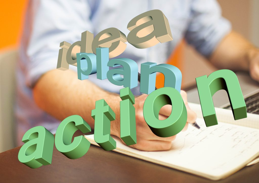 How to get organized: make an action plan