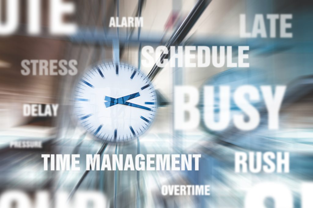 When you are busy the importance of time management skills is paramount
