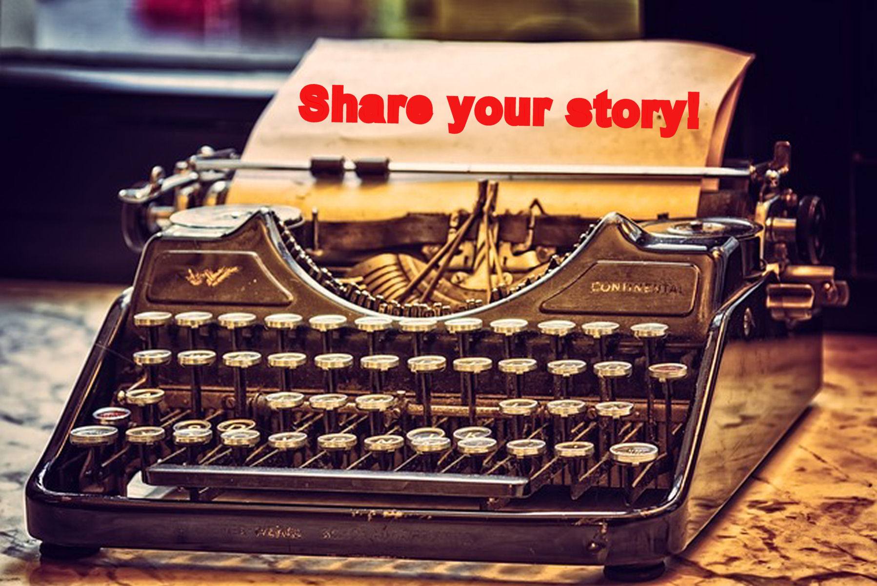 Create web content to share your story