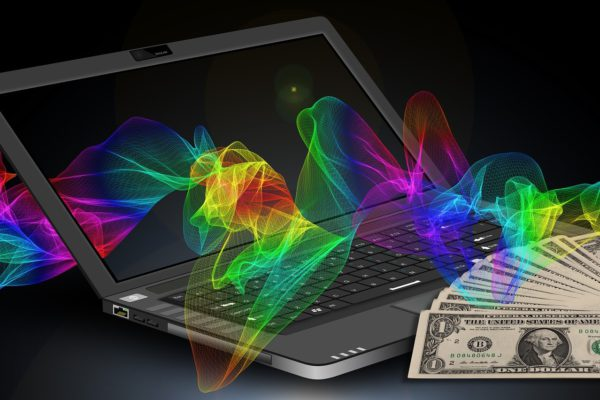 Online businesses make money